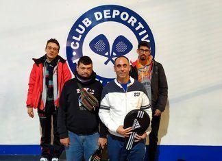 Primera prueba de Pádel perteneciente a la competición JEDES celebrada en Mérida