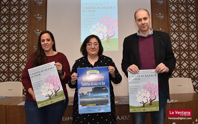 se inicia la XVII edición de Valdelacalzada en Flor