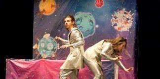 Campaña escolar con teatro en inglés en Puebla de la Calzada