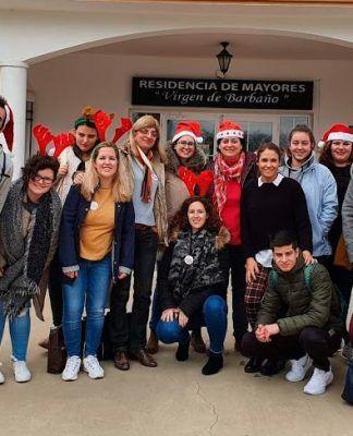 Navidad 2019 Curso Monitores Ocio Universidad Popular en la Residencia de Mayores