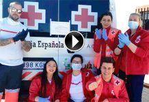 Agradecimiento a los voluntarios de Cruz Roja en Extremadura