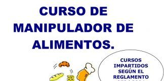 Curso de manipulador de alimentos en Montijo