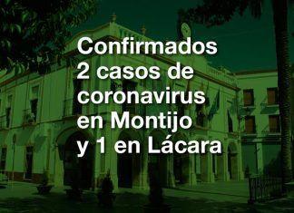 Confirmados 2 casos de positivo en coronavirus en Montijo y 1 en Lácara