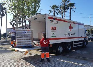 Cruz Roja distribuirá más de 8.000 kilos de alimentos a 236 personas vulnerables de las Vegas Bajas