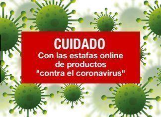 """Cuidado con las estafas online de productos """"contra el coronavirus"""""""