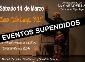 Eventos suspendidos en La Garrovilla