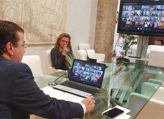 Fernández Vara apela a la unidad de acción para frenar las consecuencias de la crisis del coronavirus