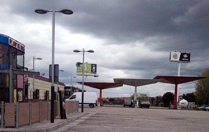 Gasolinera REPSOL de Arroyomolinos, en la A5.