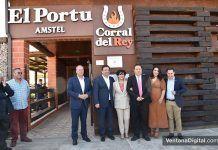 Inauguración El Corral del Rey el Portu en Barbaño