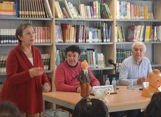 Lah jalajah de la Cahtafiore llega hasta la Biblioteca de Montijo