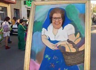 Marina Borreguero Díaz, carnavalera más longeva del Carnaval de Montijo