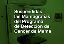 suspendidas mamografias