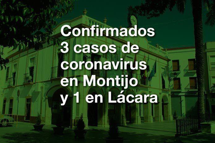 Un nuevo caso eleva a 3 los positivos en coronavirus en Montijo