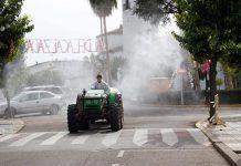 Los agricultores solidarios de Valdelacalzada lucha contra el coronavirus