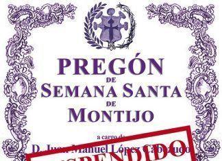 Suspendido el Pregón de Semana Santa de Montijo por la alerta sanitaria
