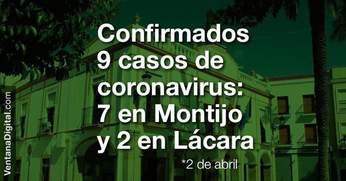 casos coronavirus montijo 2 abril