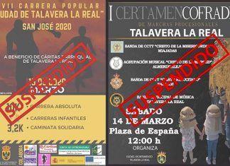 Eventos suspendidos en Talavera la Real