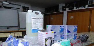 El IES Extremadura cede al Centro de Salud Montijo-Puebla de la Calzada todo el material sanitario del que dispone