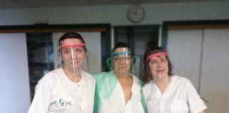 pantallas faciales coronavirus