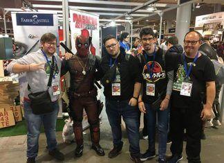 Inclusion Man en el Salon del Comic de Valencia