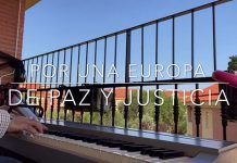"""VÍDEO: Música desde el balcón: """"Himno de la Alegría"""" por Pedro Monty"""