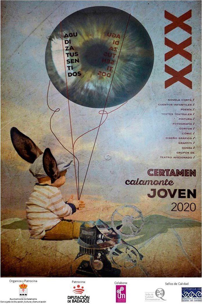 "plazo de inscripción del XXX Certamen Nacional ""Calamonte Joven 2020"