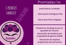 Premios Famufex 2020