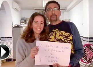 VÍDEO: La Escuela de Pádel Guadiana se queda en casa