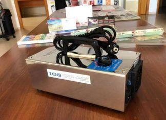 El Ayuntamiento de Lobon adquiere un generador de ozono portatil