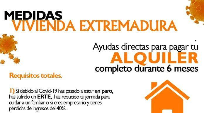 AYUDAS PARA LOS ALQUILERES DE VIVIENDA HABITUAL Extremadura