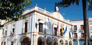 Fachada Ayuntamiento de Montijo