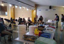 Vuelta a las aulas de los alumnos trabajadores y del equipo técnico de nuestra Escuela Profesional de Montijo