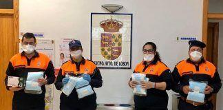 El Ayuntamiento de Lobón reparte 600 mascarillas entre los loboneros mayores de 65 años