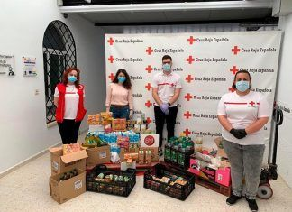BNI Compromiso apoya el Plan Cruz Roja Responde con una donación de alimentos