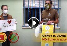 Jose Luis, de la empresa de Montijo Wildroots Extremadura se suma a las medidas de precaución ante la COVID-19