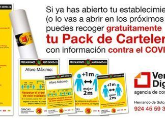 Ventana Digital continúa entregando Packs de Cartelería gratuitos a los establecimientos que reabren sus puertas