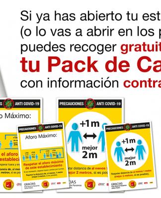 Ventana Digital continúa entregando Packs de Cartelería gratuitos a los establecimientos