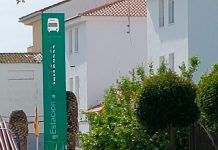 El primer transporte publico electrico en Montijo tendra punto de recarga en la Estacion de Autobuses