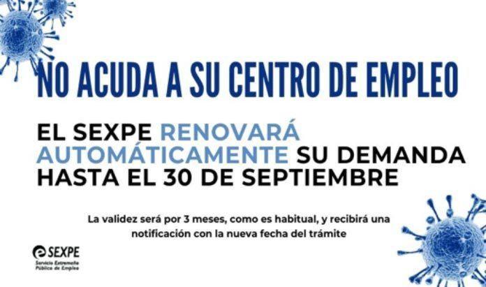 Las oficinas del SEXPE y del SEPE siguen cerradas al público