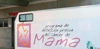 La Unidad Móvil de Detección Precoz del Cáncer de Mama estará en Valdelacalzada