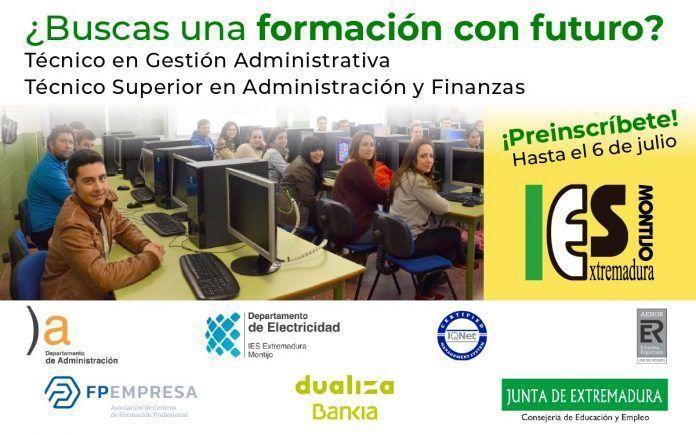 Estudiar Administración en el IES Extremadura de Montijo