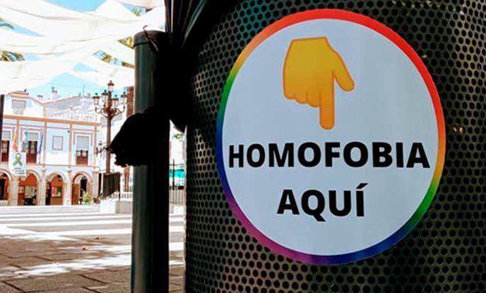 Campaña contra la Homofobia en Montijo