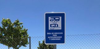 El Ayuntamiento de Lobón habilita una zona de servicio para caravanas y autocaravanas