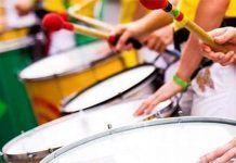 Talleres de percusión y canto en el Espacio de Creación Joven de Montijo