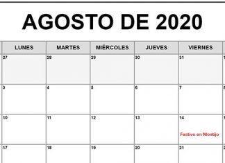 14 de agosto festivo en Montijo