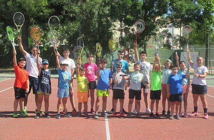 FOTOS: Clausura del curso 2019-2020 del Club Tenis Montijo