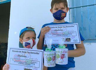 FOTOS: Clausura de curso de la Escuela de tenis La Garrovilla