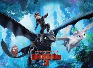 «Cómo entrenar a tu dragón 3» se proyectará en Montijo dentro del Cine de Verano