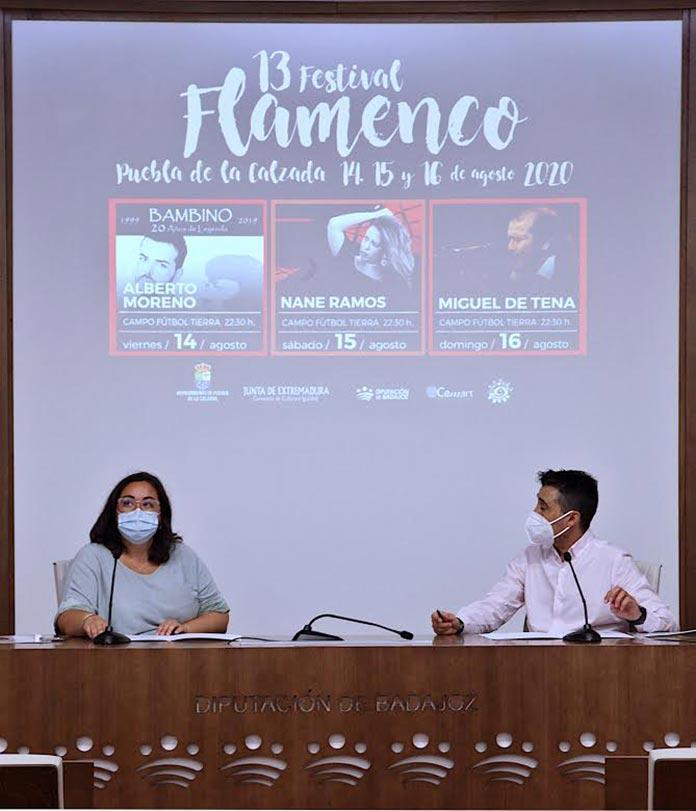 XIII Festival de Flamenco en Puebla de la Calzada 2020 adopta medidas de seguridad contra la Covid-19