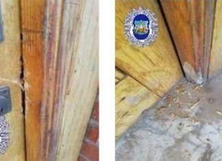 La Policía Local de Montijo impide la ocupación de una vivienda